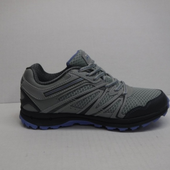 Fila Size 8.5 Grey Trail Hiking Sneakers New Boutique